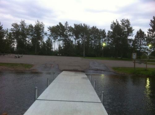 Dock View - Whitewater Lake