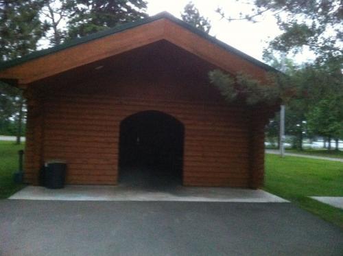 Shelter Area - Whitewater Lake