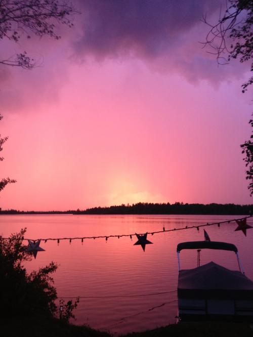 Very nice red sunset